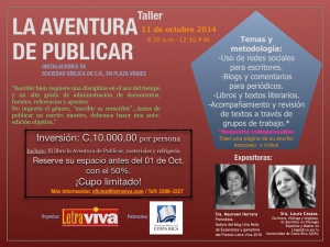 Invitación La Aventura de Publicar.001